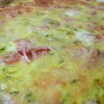 Recette nutrition : Tarte gourmande au saumon et courgettes