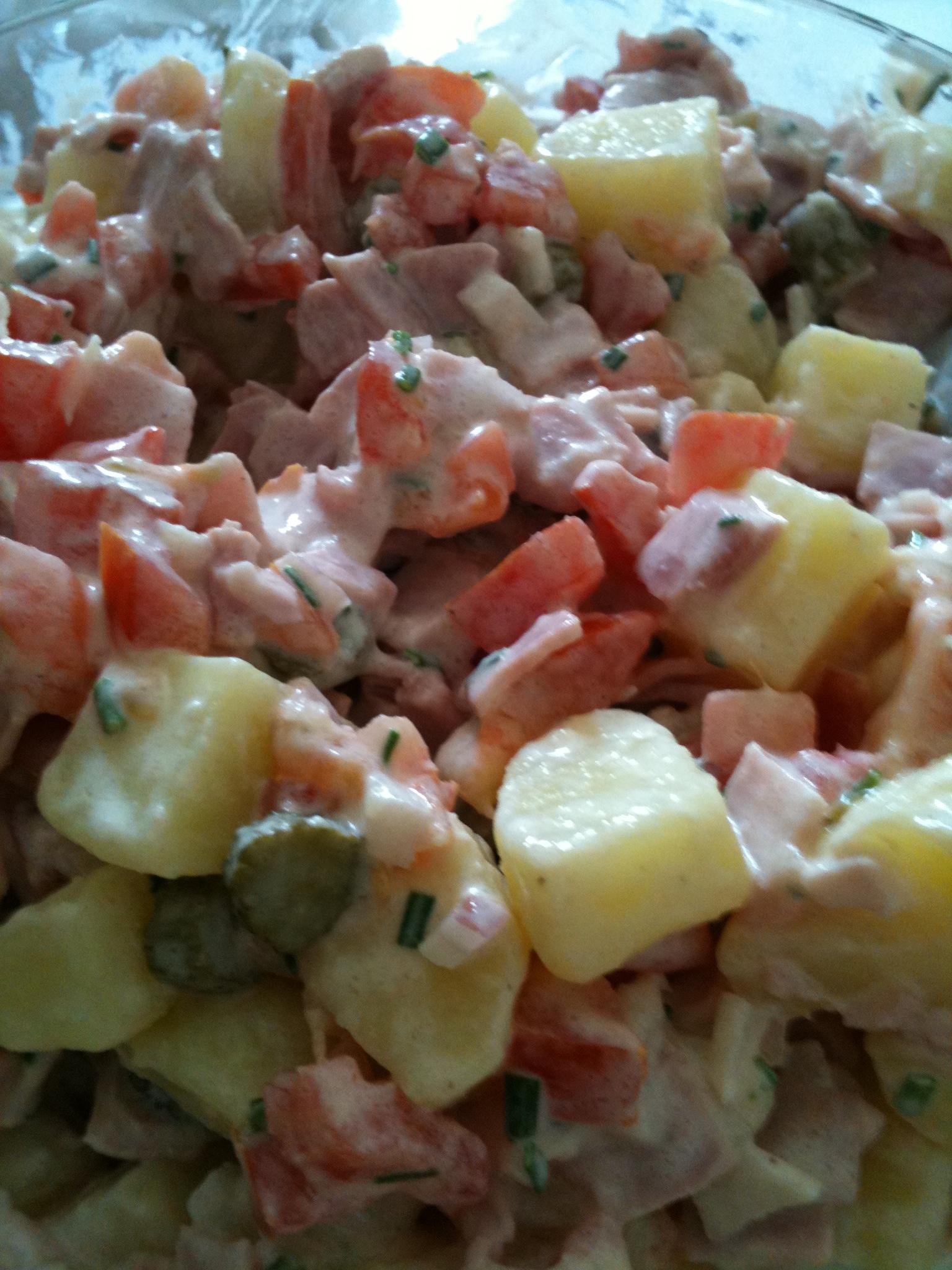 Recette salade façon piémontaise