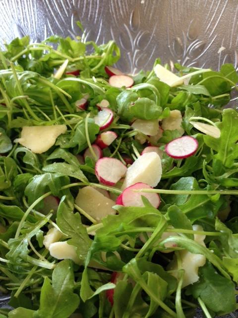 Recette pétillant de salade