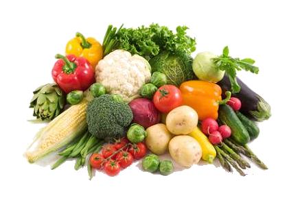 Fruits et légumes variés