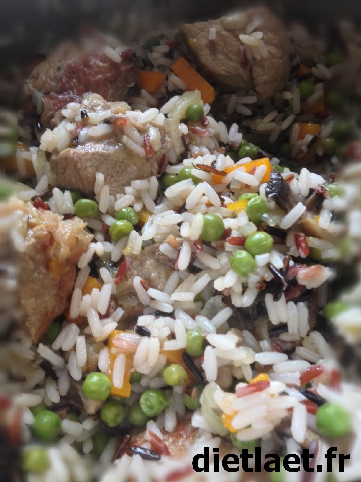 Recette sauté de veau et petits légumes